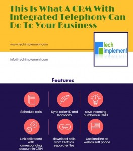 Telephony Integrated CRM for your Business