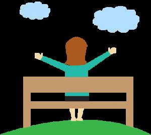 fresh air for stress