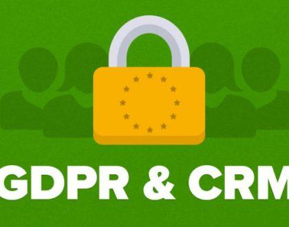 GDPR, CRM, CRMsolution, CRMsoftware