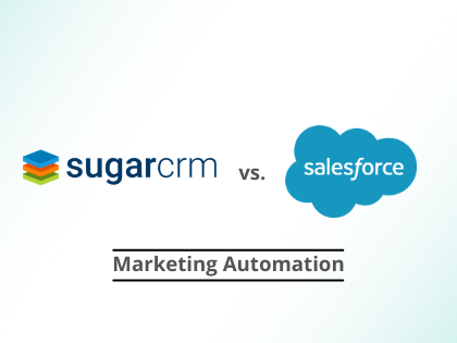 SugarCRM vs. Salesforce - Marketing Automation